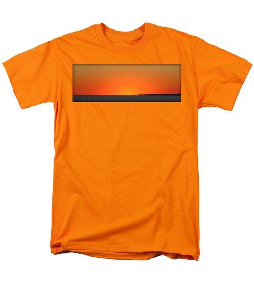 Florida Orange Men's T-Shirt  (Regular Fit) by Faith Williams