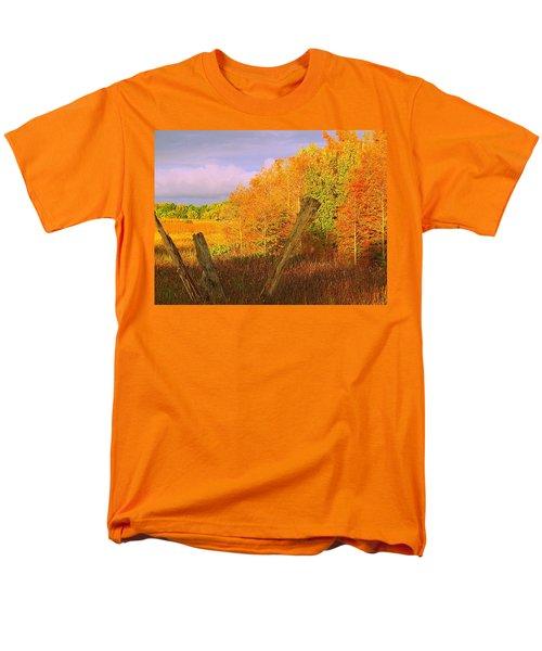 Florida Wetlands  Men's T-Shirt  (Regular Fit) by David Mckinney