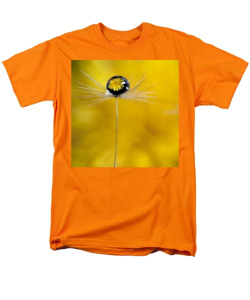 Flower And Seed Men's T-Shirt  (Regular Fit)