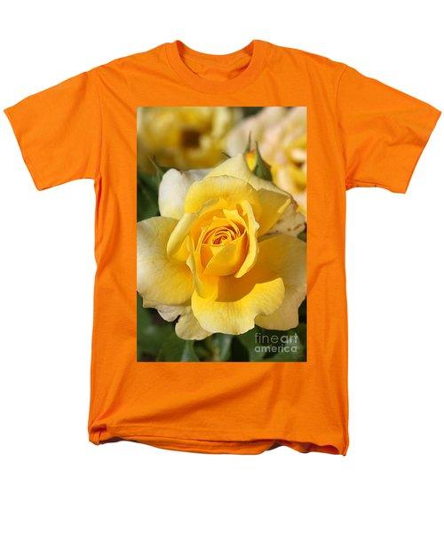 Flower-yellow Rose-delight Men's T-Shirt  (Regular Fit) by Joy Watson