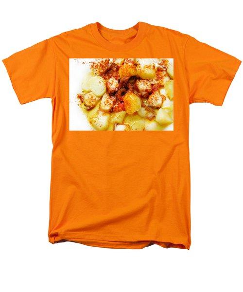 Galician Octopus  Men's T-Shirt  (Regular Fit) by Gina Dsgn