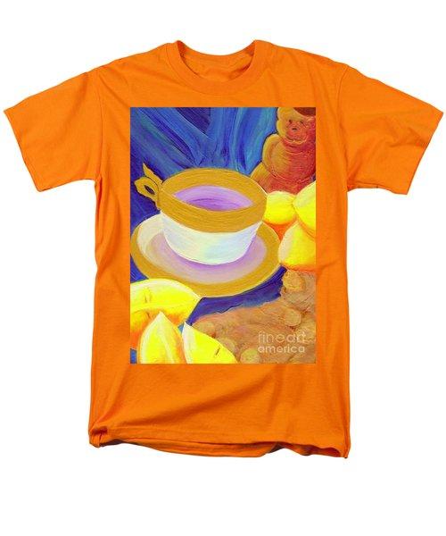 Ginger Lemon Tea By Jrr Men's T-Shirt  (Regular Fit) by First Star Art