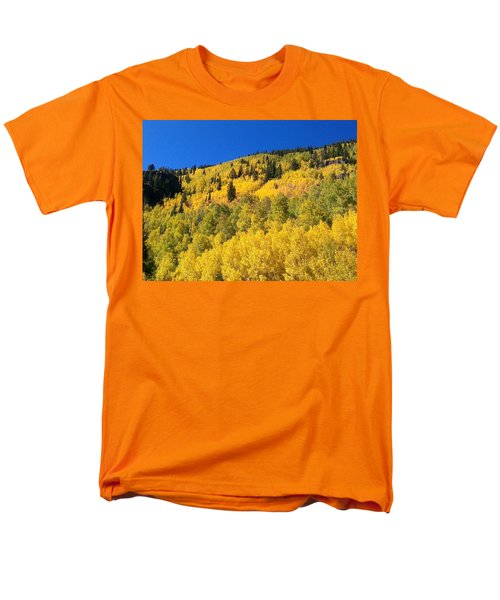 Men's T-Shirt  (Regular Fit) featuring the photograph Going Gold by Fortunate Findings Shirley Dickerson