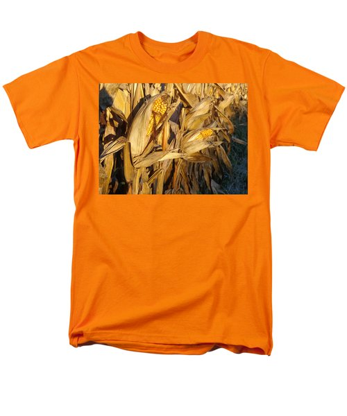 Men's T-Shirt  (Regular Fit) featuring the photograph Golden Corn by Joseph Skompski