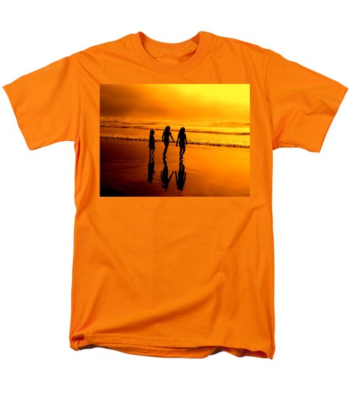 Golden Sands  Men's T-Shirt  (Regular Fit) by Micki Findlay