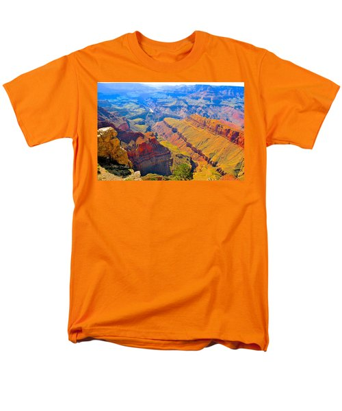 Grand Canyon In Vivid Color Men's T-Shirt  (Regular Fit)