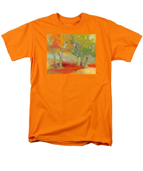 Green Trees Men's T-Shirt  (Regular Fit) by Michelle Abrams