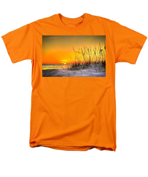 Gulf Sunset Men's T-Shirt  (Regular Fit) by Marvin Spates