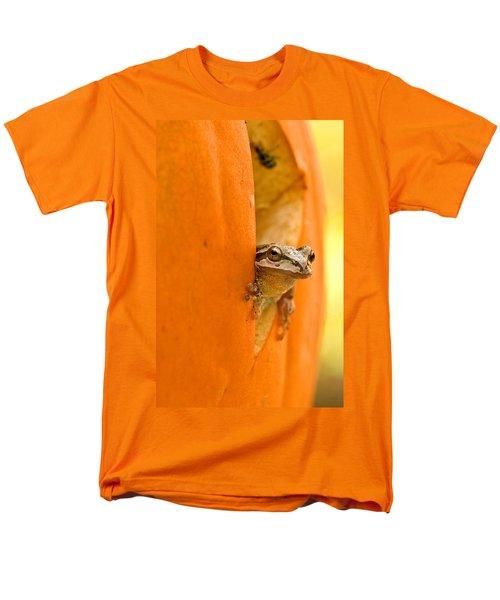 Halloween Surprise  Men's T-Shirt  (Regular Fit) by Jean Noren