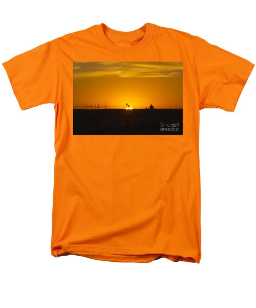 Hammering The Sun Men's T-Shirt  (Regular Fit) by Alycia Christine