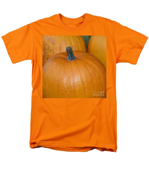 Men's T-Shirt  (Regular Fit) featuring the photograph Harvest Pumpkins by Chalet Roome-Rigdon