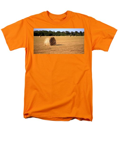 Men's T-Shirt  (Regular Fit) featuring the photograph Harvest Time by Gordon Elwell
