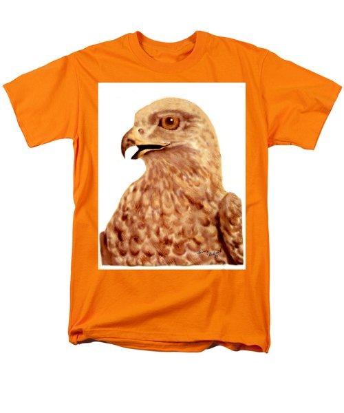Men's T-Shirt  (Regular Fit) featuring the digital art Hawk by Terry Frederick