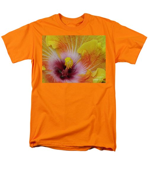 Men's T-Shirt  (Regular Fit) featuring the photograph Hibiscus by Tam Ryan