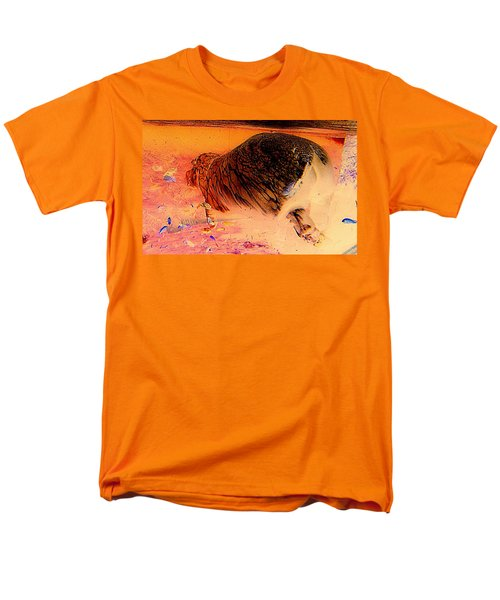 Men's T-Shirt  (Regular Fit) featuring the photograph Hippo Elegance by Antonia Citrino