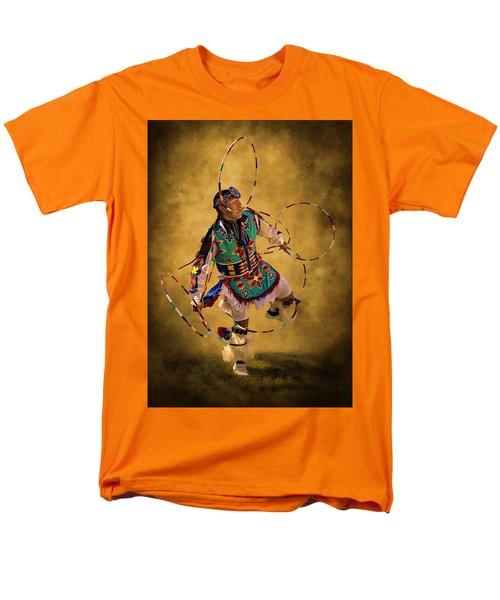 Hooping His Heart Out Men's T-Shirt  (Regular Fit) by Priscilla Burgers