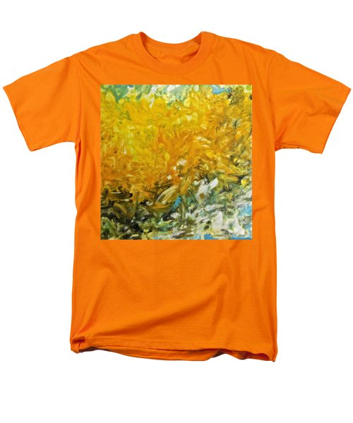 Men's T-Shirt  (Regular Fit) featuring the painting In My Magic Garden by Joan Reese