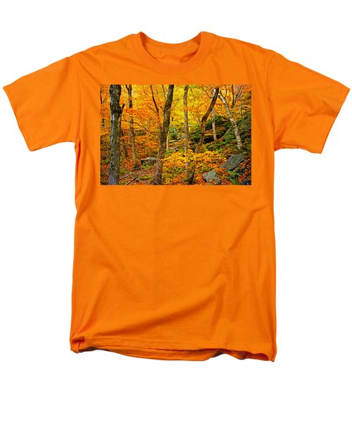 Men's T-Shirt  (Regular Fit) featuring the photograph In The Woods by Bill Howard