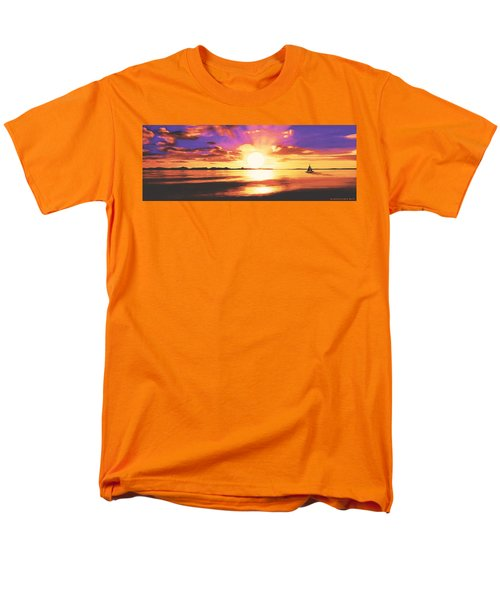 Into The Sunset Men's T-Shirt  (Regular Fit) by Sophia Schmierer