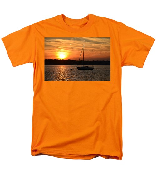 Island Heights Sunset Men's T-Shirt  (Regular Fit) by Brian Hughes