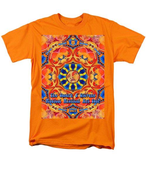 Joseph J Stevens Magical Mystical Art Tour 2014 Men's T-Shirt  (Regular Fit) by Joseph J Stevens