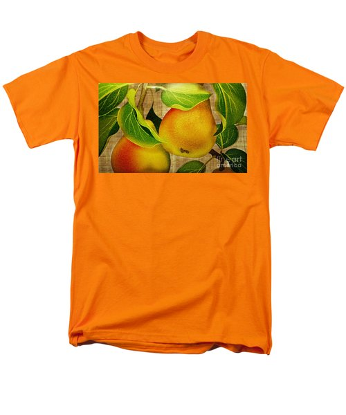 Men's T-Shirt  (Regular Fit) featuring the photograph Just Pears by Judy Palkimas