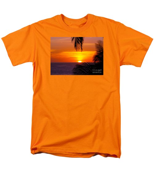 Kauai Sunset Men's T-Shirt  (Regular Fit) by Patricia Griffin Brett