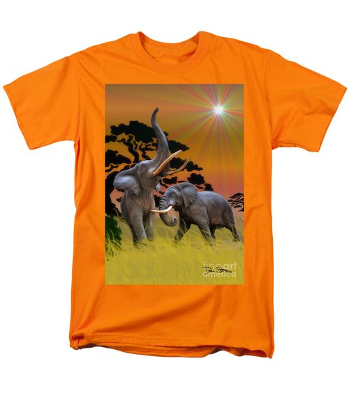 Leviathans Of The Land Men's T-Shirt  (Regular Fit) by Dan Stone