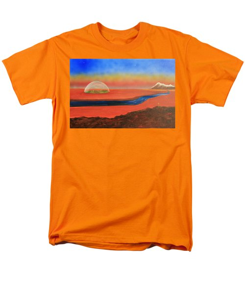 Life Will Find A Way Men's T-Shirt  (Regular Fit) by Tim Mullaney