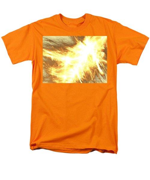 Men's T-Shirt  (Regular Fit) featuring the digital art Light Spark by Kim Sy Ok