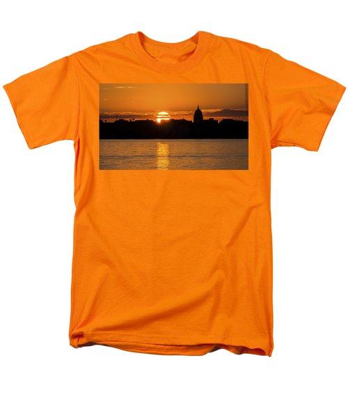 Madison Sunset Men's T-Shirt  (Regular Fit) by Steven Ralser