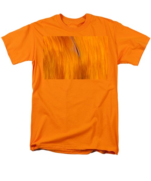 Maelstrom Of Fall Colors Men's T-Shirt  (Regular Fit) by Jeff Folger