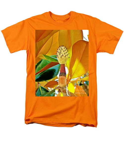 Men's T-Shirt  (Regular Fit) featuring the photograph Magnolia Flower by Olga Hamilton