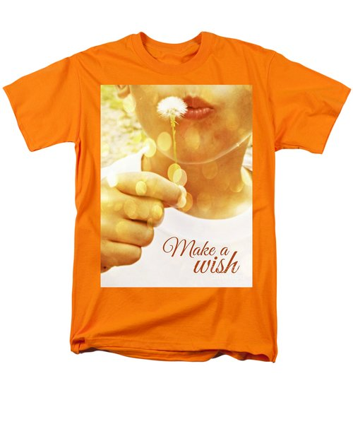 Make A Wish Men's T-Shirt  (Regular Fit) by Valerie Reeves
