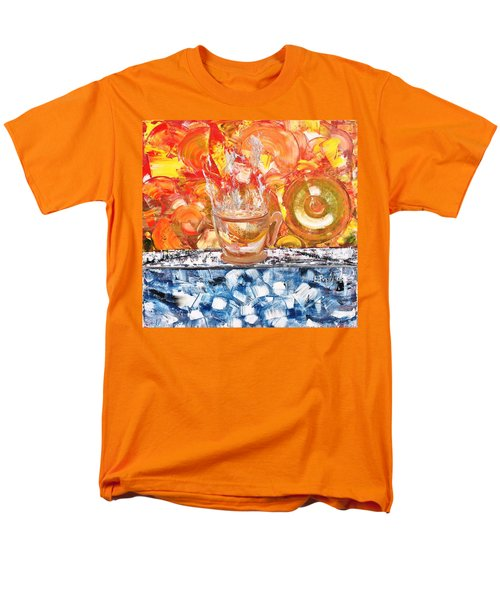 Men's T-Shirt  (Regular Fit) featuring the painting Matinal by Evelina Popilian