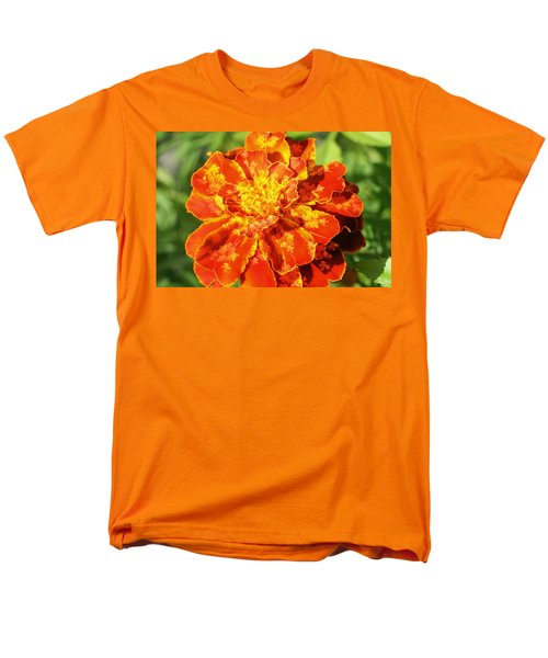 Merry Marigold Men's T-Shirt  (Regular Fit) by Barbara S Nickerson