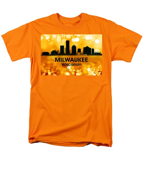 Milwaukee Wi 3 Men's T-Shirt  (Regular Fit) by Angelina Vick