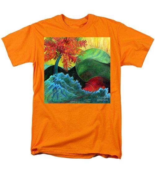 Moonstorm Men's T-Shirt  (Regular Fit) by Elizabeth Fontaine-Barr