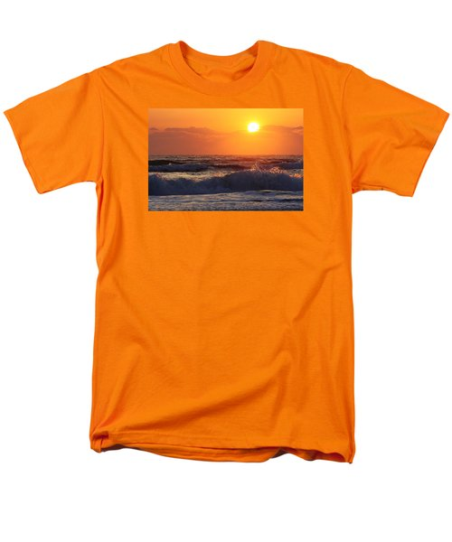 Men's T-Shirt  (Regular Fit) featuring the photograph Morning On The Beach by Bruce Bley