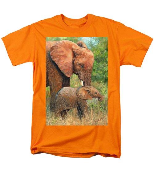Mother Love 2 Men's T-Shirt  (Regular Fit) by David Stribbling