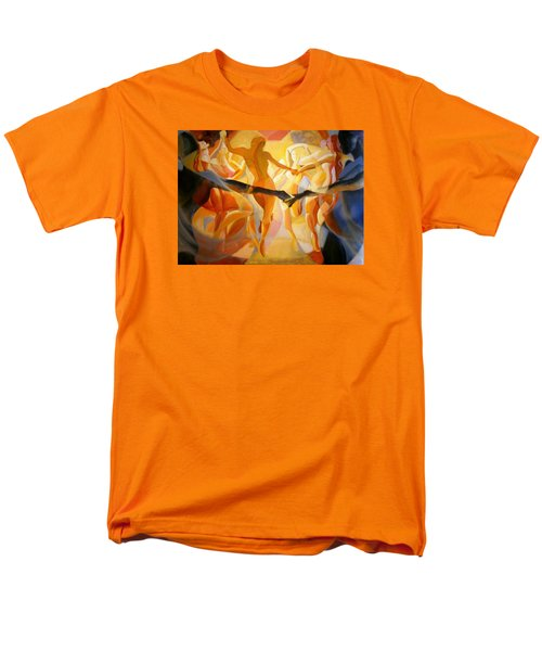 Men's T-Shirt  (Regular Fit) featuring the painting Moving Nimbus by Georg Douglas