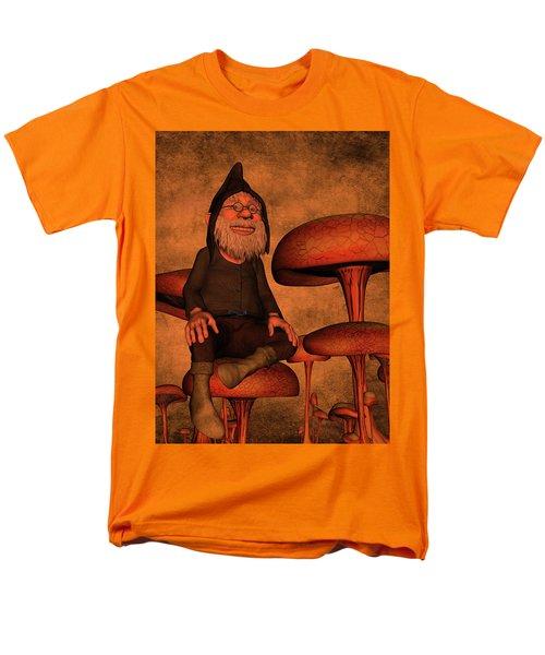Men's T-Shirt  (Regular Fit) featuring the digital art My Beautiful World by Gabiw Art