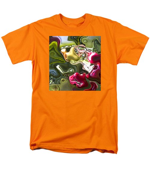 Men's T-Shirt  (Regular Fit) featuring the painting Naturescape by Richard Thomas