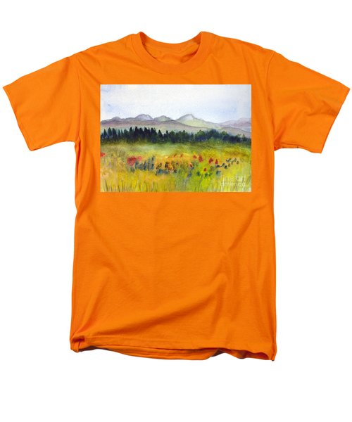 Nek Mountains And Meadows Men's T-Shirt  (Regular Fit) by Donna Walsh