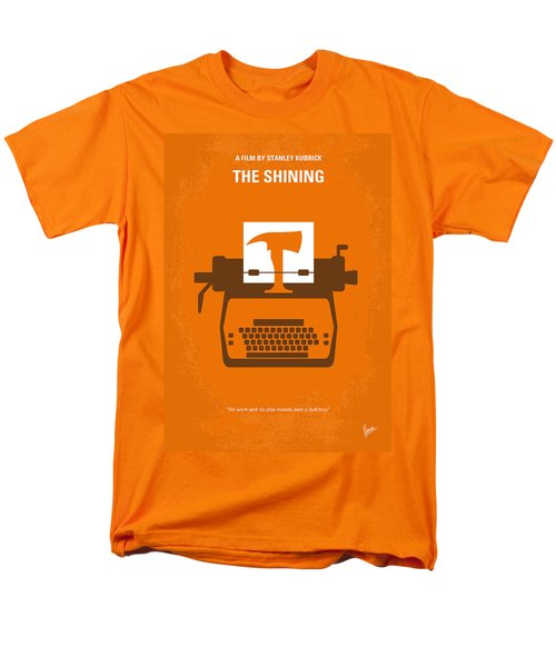 No094 My The Shining Minimal Movie Poster Men's T-Shirt  (Regular Fit) by Chungkong Art