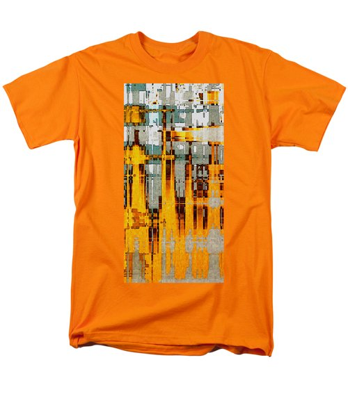 Ochre Urbanity Men's T-Shirt  (Regular Fit) by David Hansen