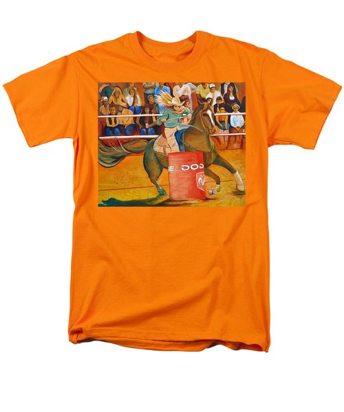 Men's T-Shirt  (Regular Fit) featuring the painting On A Dime by Joshua Morton