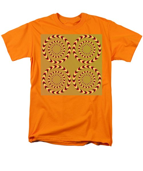 Optical Ilusions Summer Spin Men's T-Shirt  (Regular Fit) by Sumit Mehndiratta