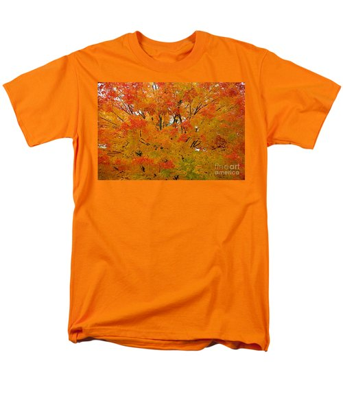 Men's T-Shirt  (Regular Fit) featuring the photograph Orange Crush by Robert Pearson