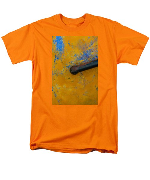 Men's T-Shirt  (Regular Fit) featuring the photograph Orange On Blue by Edgar Laureano